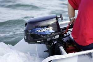 лодочный мотор tohatsu в Японии