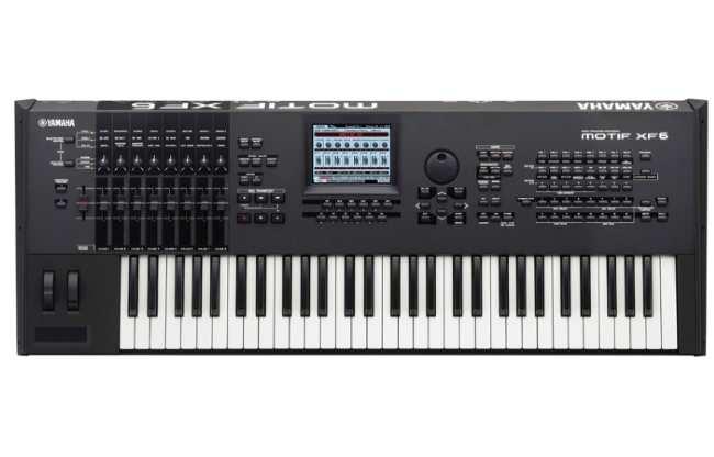 Синтезатор Yamaha-MOTIF-XF6