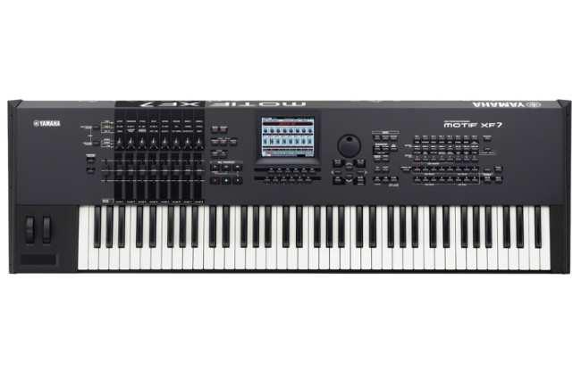 Синтезатор Yamaha-MOTIF-XF7