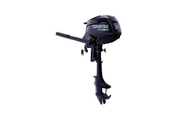 Лодочный мотор Tohatsu MFS 3.5B S